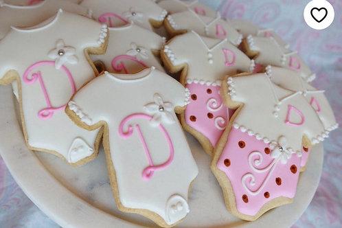 Custom Onesie Cookies