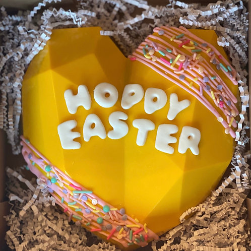 Hoppy Easter Smash Heart