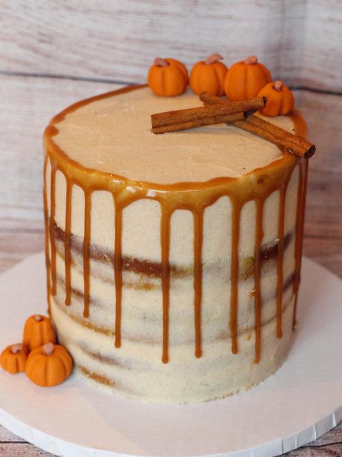 Caramel Pumpkin Cake