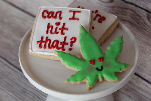 Pot Pun Cookies
