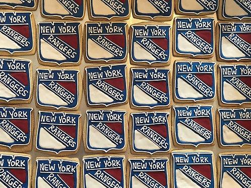 New York Rangers Cookie