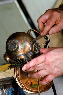 Atelier sculpture métal