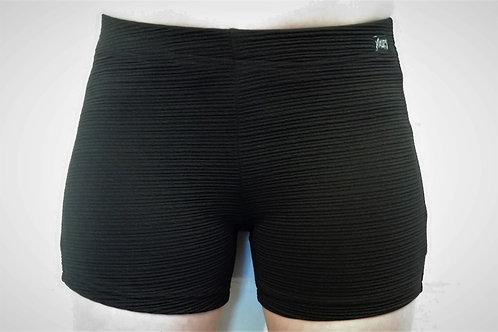 Short sport noir