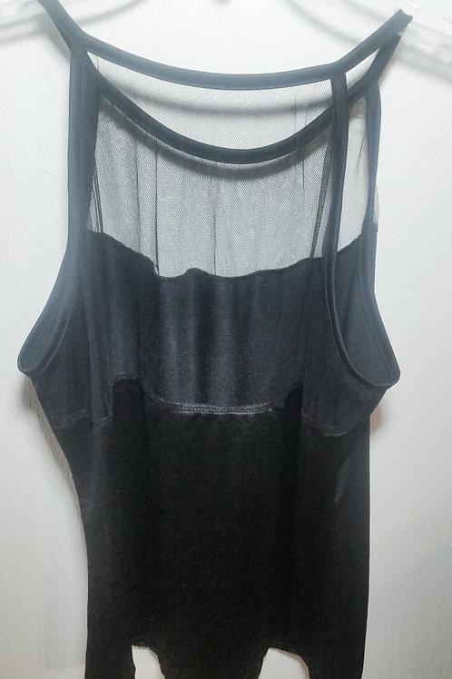 Mesh/Lace Top Shirt