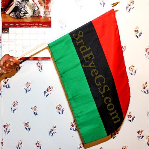 RBG Stick Flag