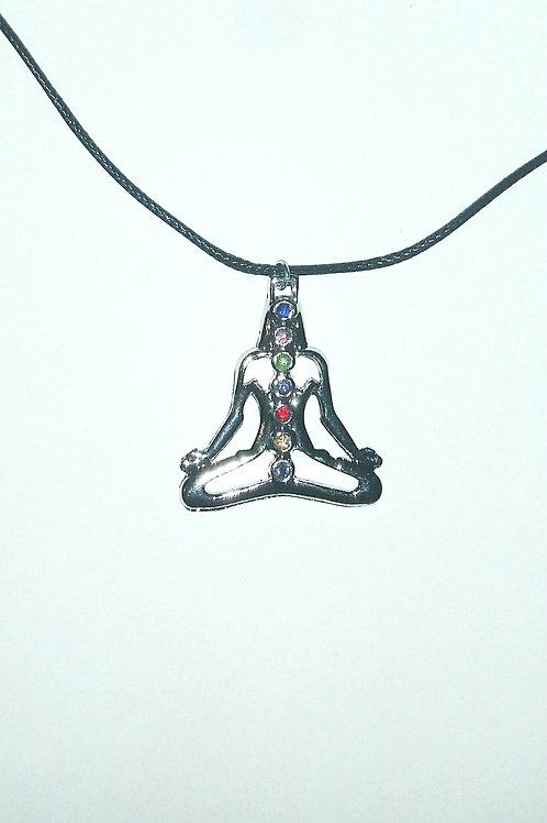 Lotus Chakras Necklace