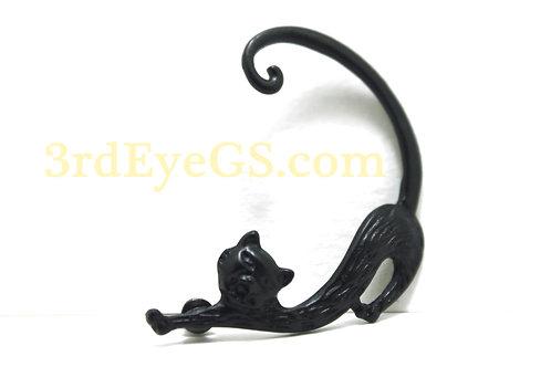 Black Cat Ear Wrap Earring