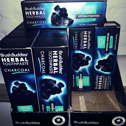 Activated Charcoal mint toothpaste