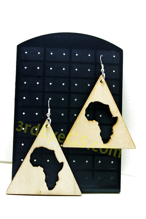Africa Pyramid Earrings