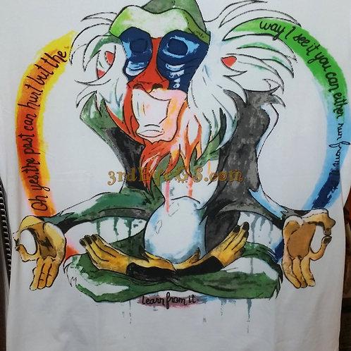 Meditating Rafiki Tee