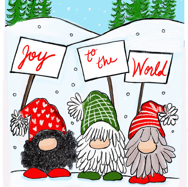 Gnomes Joy to the World