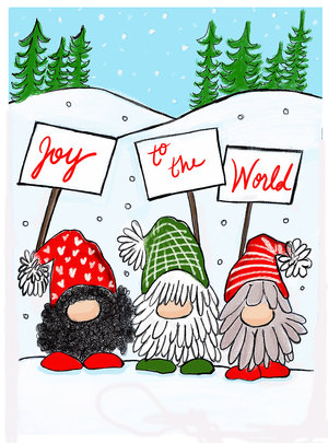 Gnomes Joy to the World