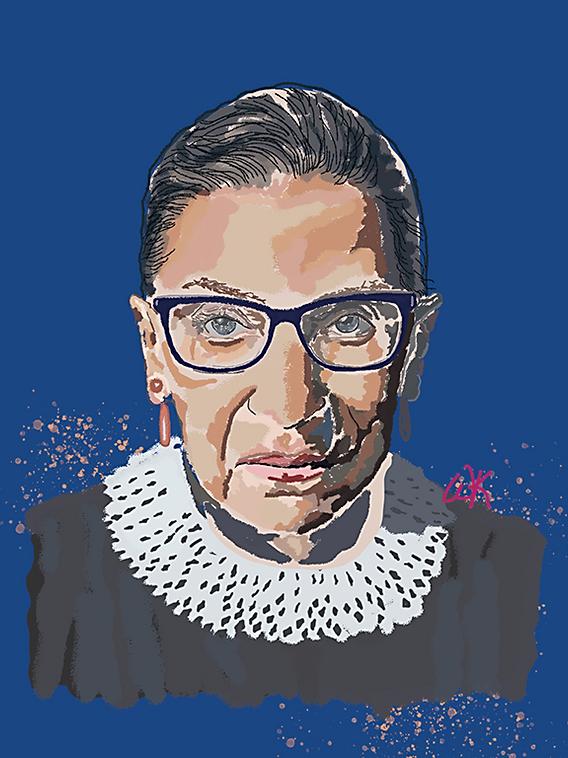 Justice Ruth Bader Ginsburg; aka Notorious RBG