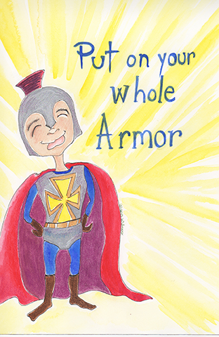 Stationary Armor of God