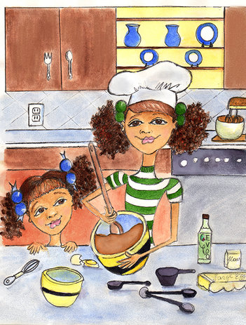 Cooking with Big Sis