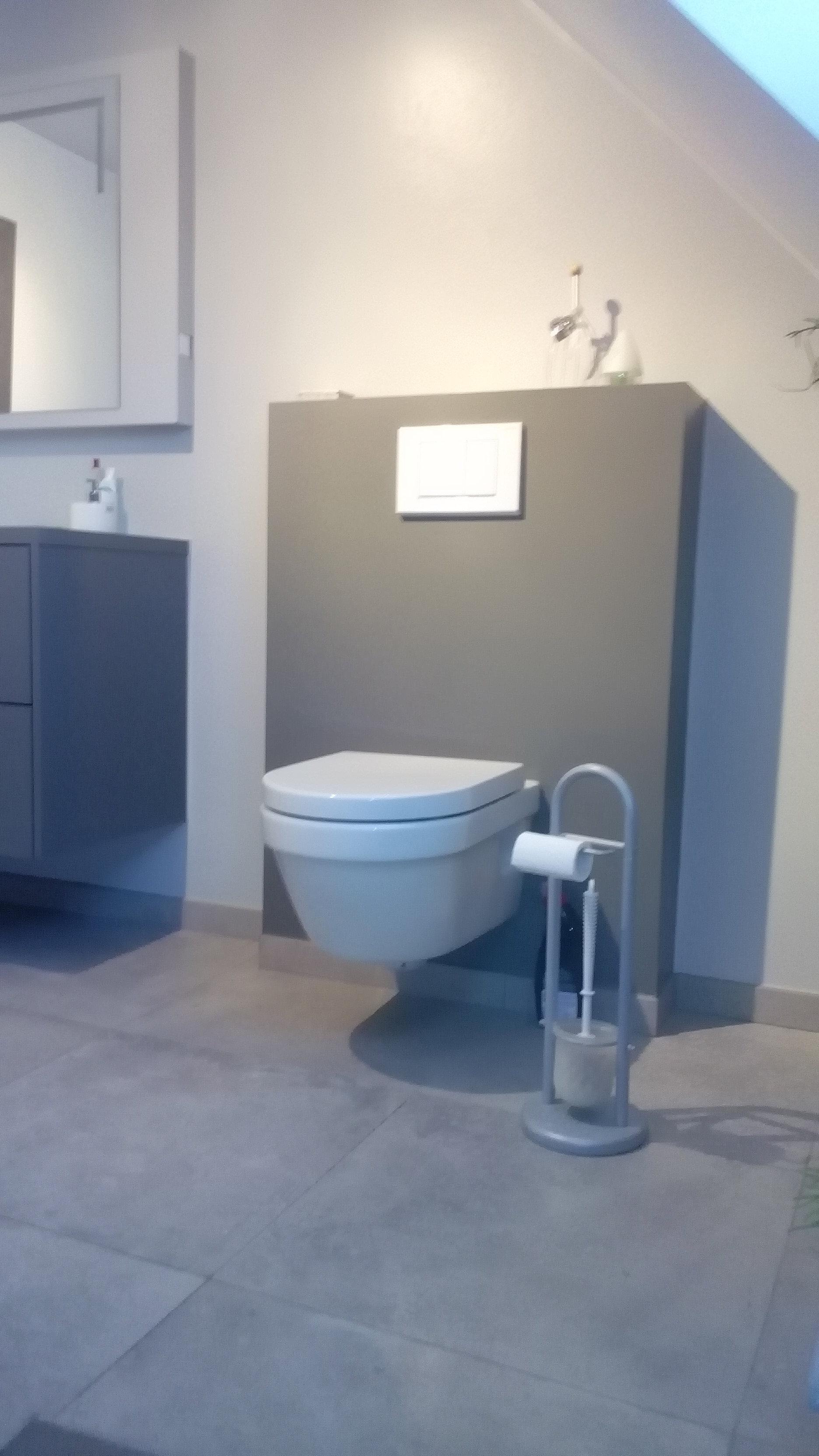 ostijn - badkamerrenovatie - verwarming - warmtepomp - airco, Badkamer