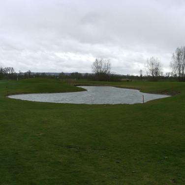 Natuurlijke waterpartij