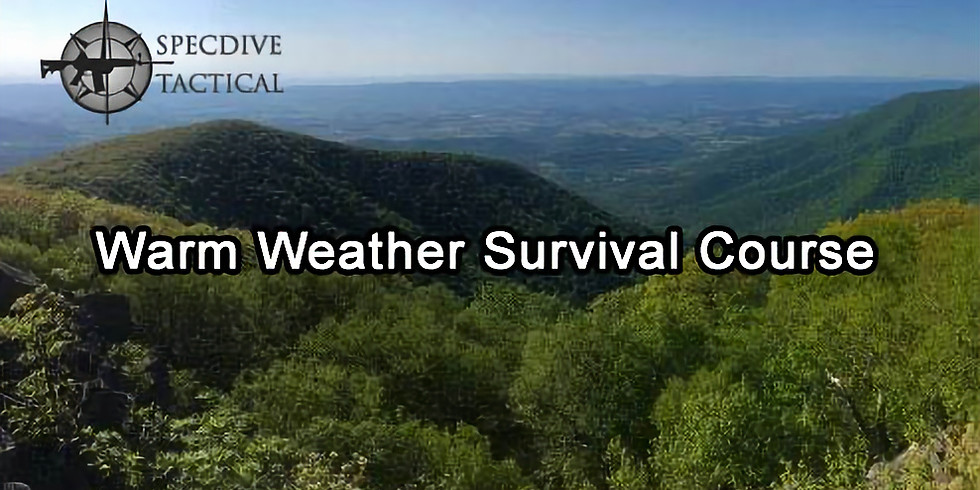 Specdive Tactical - Warm Weather Survival Course - September 8, 2018 – September 9, 2018