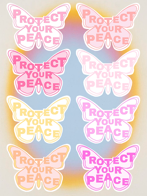 PROTECT YOUR PEACE | SUNSET