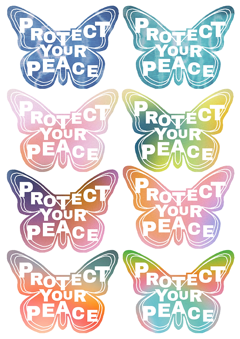 PROTECT YOUR PEACE   AURA