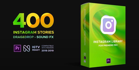 Instagram Library for Premiere Pro 23068744 Videohive – Free Download Premiere Pro Templates