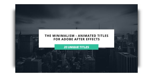 The Minimalist 23068248 Videohive – Download After Effects Template