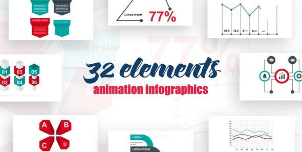 Infographics vol.15 25615671 Videohive – Free Download After Effects Templates