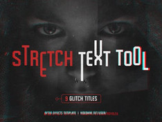 Stretch Glitch Titles 16141093 Free Download After Effects Project