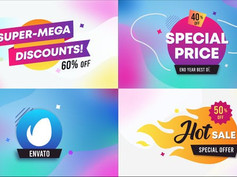 Sales Badges And Titles    After Effects 30376437 Videohive – Download After Effects Template