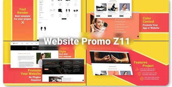 Website Promo Z11 32546080 Videohive – Download After Effects Template