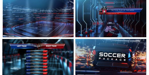 Soccer Pack 24105369 Videohive – Free Download After Effects Templates