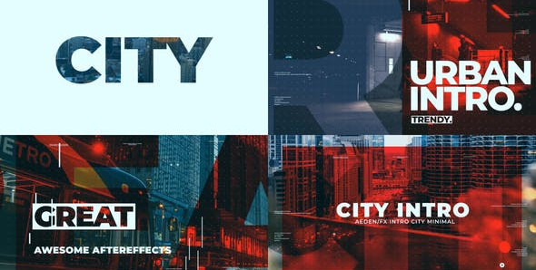 City Intro 28172151 Free Download After Effects Project