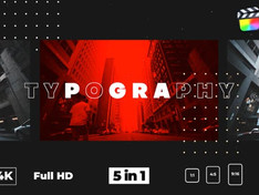 Typography Glitch Opener 28752153 Free Download After Effects Project