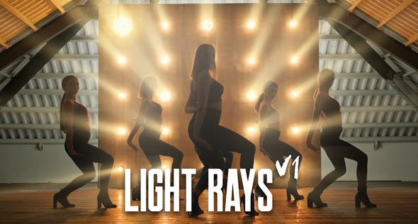 VIDEOHIVE LIGHT RAYS
