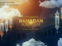 Ramadan Kareem Title 26238215 Free Download After Effects Project