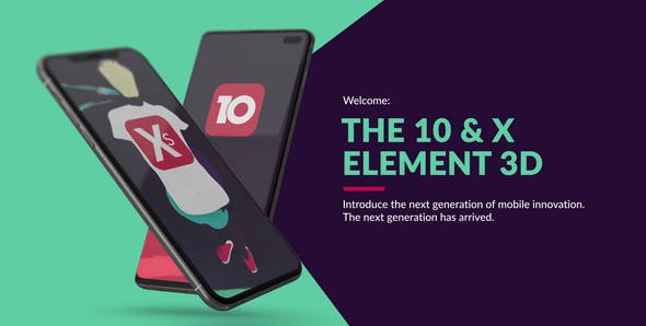 VIDEOHIVE THE 10 & X FOR ELEMENT 3D