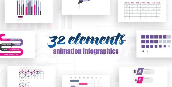 Infographics vol.14 25615652 Videohive – Free Download After Effects Templates