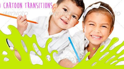 Cartoon Transitions Pack 790983 - Free After Effects Download