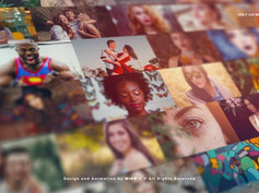 Mosaic Photo Wall Vlog Logo Reveal 25423444 - Free Download After Effects Project