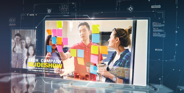 Tech Company Slideshow 29838336 Free Download After Effects Project