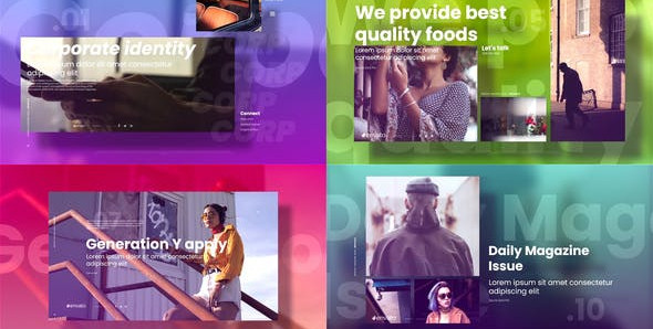VIDEOHIVE ELEGANT BUSINESS SLIDESHOW 27270846