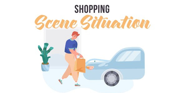 Shopping – Scene Situation 31859785 Free Download After Effects Project