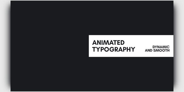 Animated Typography 21585239 Videohive – Download After Effects Template