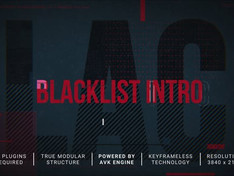 Blacklist Intro-Slideshow 31198788 Free Download After Effects Project