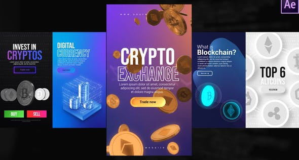 Instagram Crypto Stories 31886879 Free Download After Effects Project