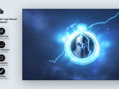 Odins Thunder Logo Reveal 25024629 Free Download After Effects Project