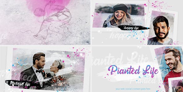 Painted Slideshow 31830714 Free Download After Effects Project
