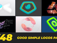 Good Simple Logos Pack 25367101 Free Download After Effects Project