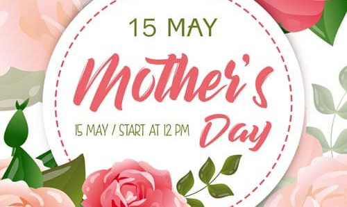 Mothers Day Free PSD Flyer Template