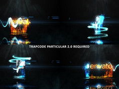 Glowing Particle Logo Reveal 27 20799750 Free Download After Effects Project